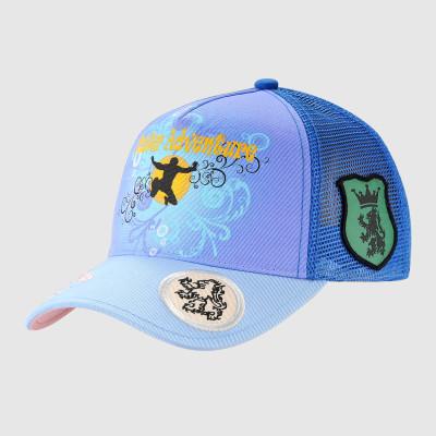 Printing Trucker Cap with Badge