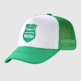 Trucker Cap with Woven Badge