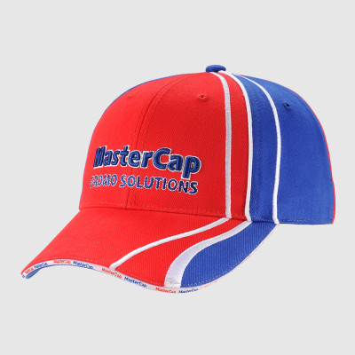 Embroidery Baseball Cap with Piping