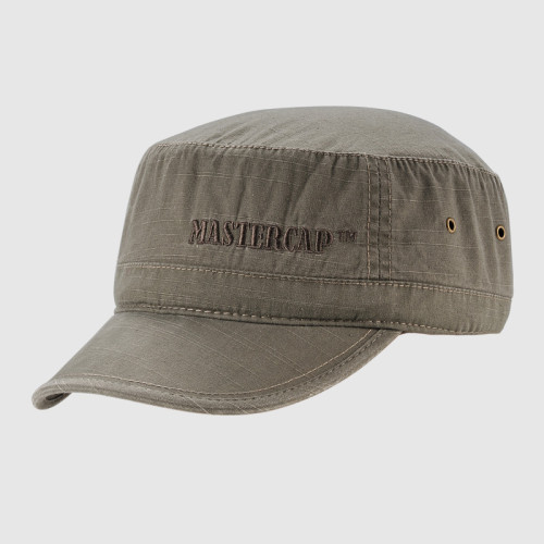 Embroidery Army Cap with Metal Eyelet