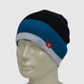 Jacquard Beanie With Woven Label