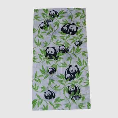 100% Cotton Muffle With Panda Printing