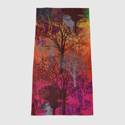 Cotton Muffle With Tree Printing