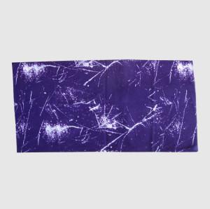Purple Cotton Muffle With Printing