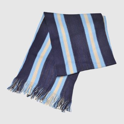Stripe Acrylic Knit Scarf