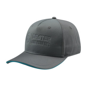 Gray Colour 5 Panel Baseball Cap