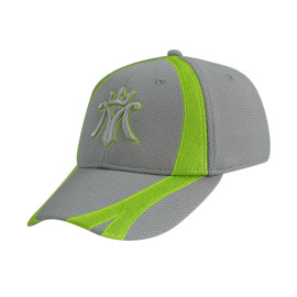 6 Panel Stretch Fit Caps with 3D Embroidery Logo