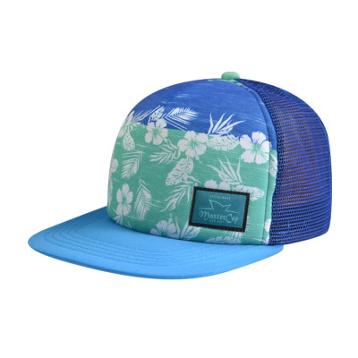 5 Panel Snapback Hats with Woven Label