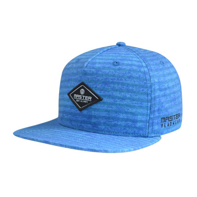 5 Panel Snapback Hats with Woven Label and Embroidery Logo