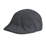 Classic Black Lvy Caps with PU badge