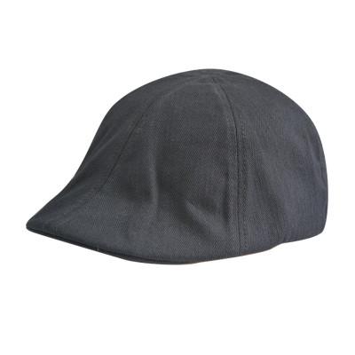 Classic Black Lvy Caps with PU badge