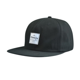 Snapback Hats with Woven Label