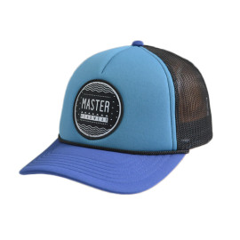 5 Panel Trucker Cap with Woven Label Badge And Ribbon