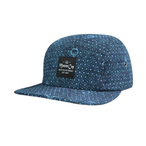 Camper Cap with Woven Label Logo