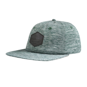 6 Panel Camper Cap with PU Embossed Badge
