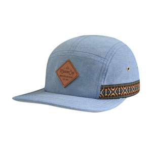 Camper Cap with PU Embossed Badge