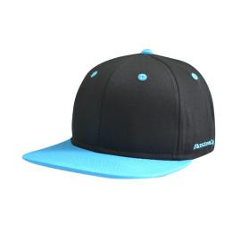 Flat Embroidery Logo 6 Panel Snapback Hat