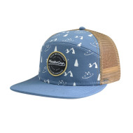 Camper Cap And Hat with Woven Label Badge