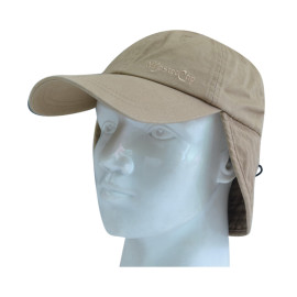 Functional Floppy Hat with Flat Embroidery Logo