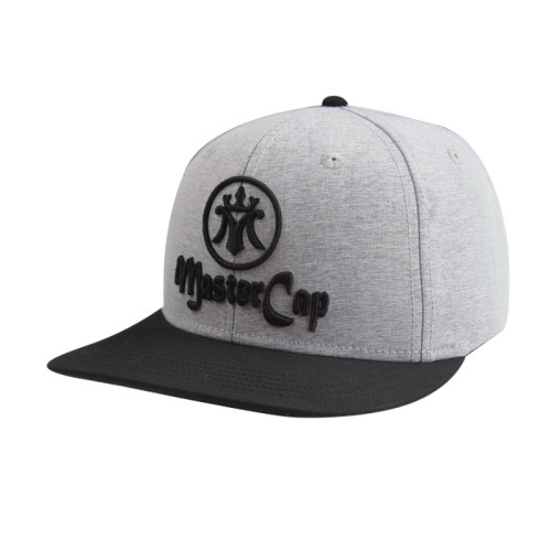 6 Panel Snapback Hat with 3D Embroidery Logo