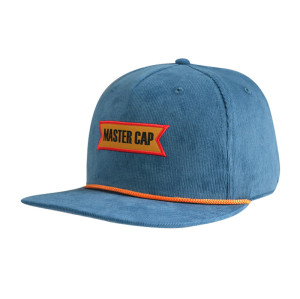 5 Panel Snapback Cap with Ribbon