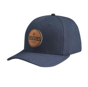 Baseball Cap with PU Embossed Badge