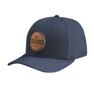 Baseball Cap with PU Embossed Badge