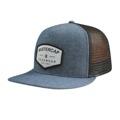 5 Psnel Snapback Cap with Woven Label Badge