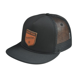 5 Panel Snapback Cap with PU Embossed Badge