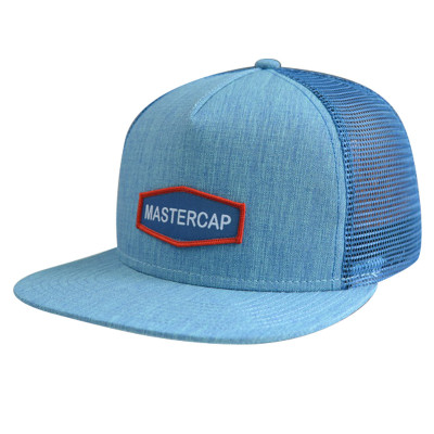 5 Panel Snapback Cap with Woven Label Bage