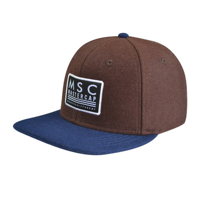 With Woven Label Edge Rust Logo Snapback Caps sAnd Hats