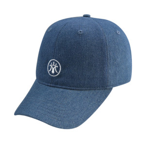 With Embroidery Logo 6 Panel Baseball Cap
