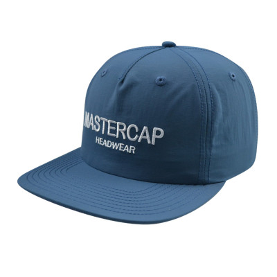 Soft Lined 5 Panel Snapbacker Cap with Embroidery