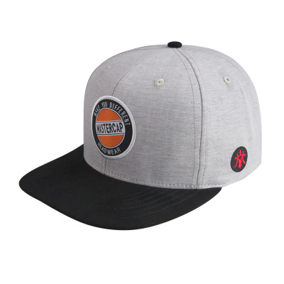 6 Panel Snapbacker Cap with Woven Label Bage