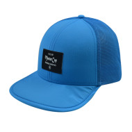 Floppy Hat with Woven Label Logo
