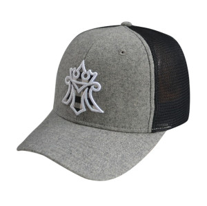 6 Panel Stretch-fit Cap with Applique Embroidery Logo