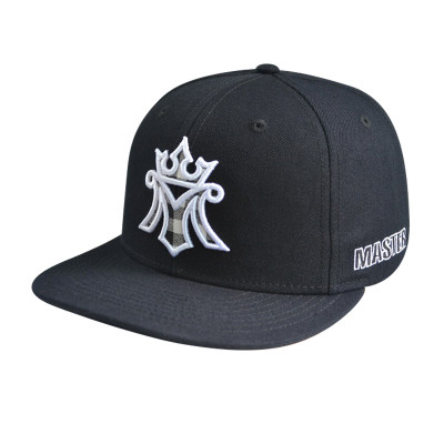 With Applique Embroidery Logo Snapbacker Cap