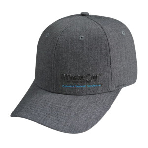 With PVC Embossed  Logo Stretch-fit Cap