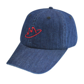 Cowboy Baseball Cap with Embroidery
