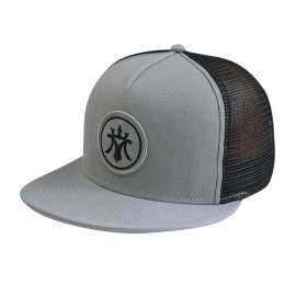 5 Panel Snapback Cap with Woven Label Badge