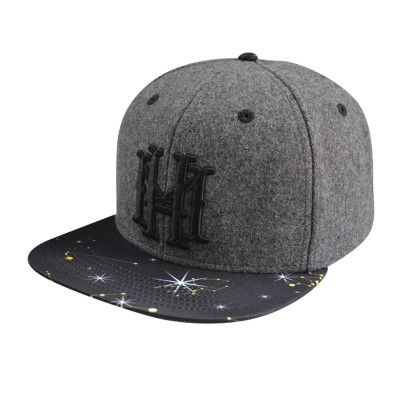 Snapback Cap with 3D Embroidery And Sublimation