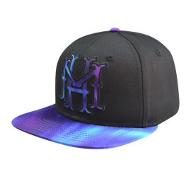 Snapback Cap with Applique Embroidery And Sublimation