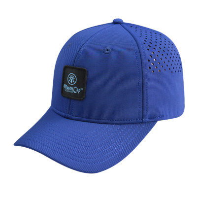Stretch-fit Cap with Woven Label Badge Logo
