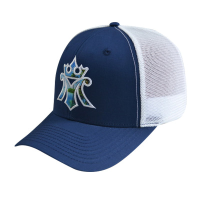 6 Panel Stretch-fit Cap with Applique Embroidery