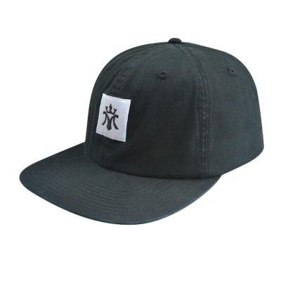 With Embroisery Logo 6 Panel Snapback Cap