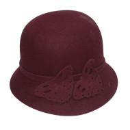 Kermesinus Felt Hat