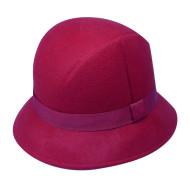 Felt Hat With Ribbon