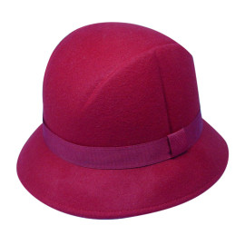 Felt Hat With Ribbon