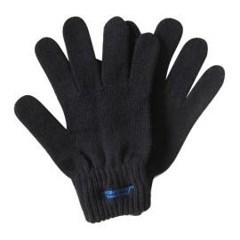 Black Color Knit Gloves