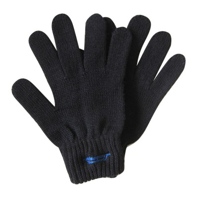 Black Color Knit Gloves